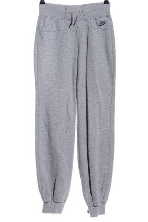 Nike Pantalon de jogging gris clair style athlétique