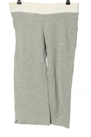 Nike Sweathose hellgrau-weiß meliert Casual-Look