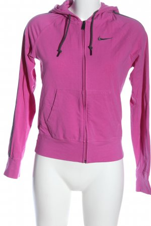 Nike Sweatjacke pink Casual-Look