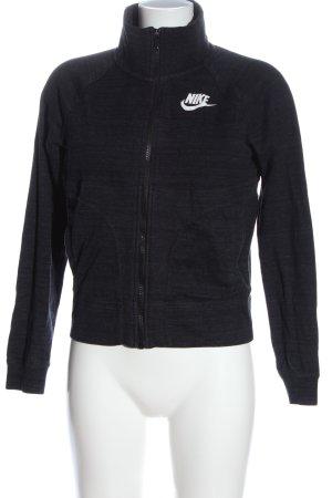 Nike Sweatjacke schwarz meliert Casual-Look