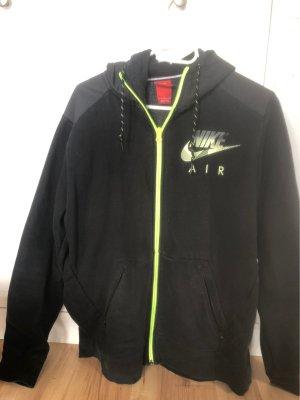 Nike Kurtka dresowa zielony neonowy-biały