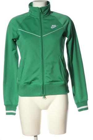 Nike Sweatjacke grün sportlicher Stil