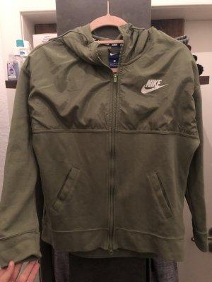 Nike Sweatjacke grün M