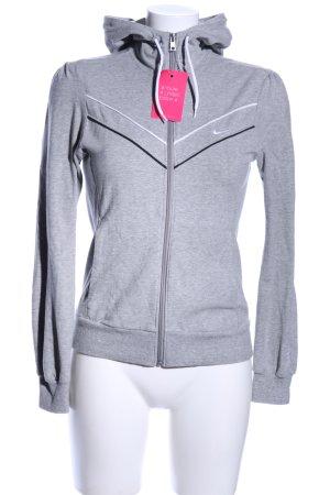 "Nike Giacca fitness ""von Marlen"" grigio chiaro"