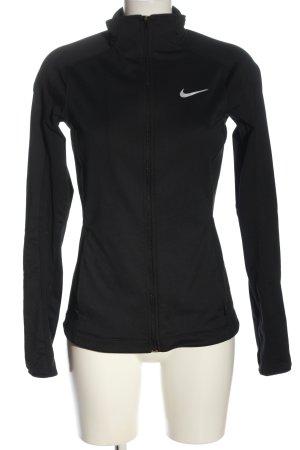 Nike Sweatjacke schwarz schlichter Stil
