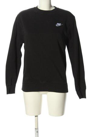 Nike Sweatshirt schwarz-weiß Casual-Look