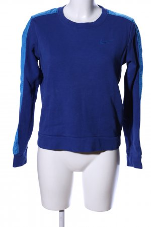 Nike Sweatshirt blau Casual-Look