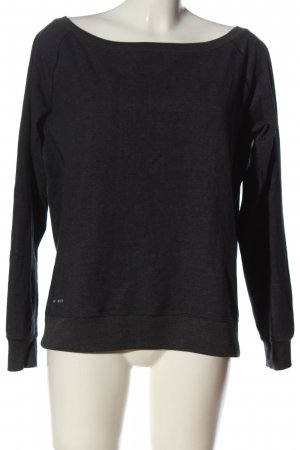 Nike Sweatshirt schwarz meliert Casual-Look