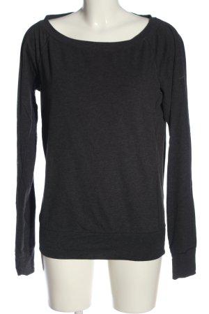 Nike Sweatshirt blau meliert Casual-Look