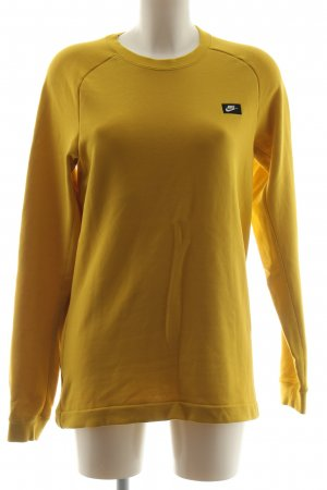 Nike Sweatshirt blassgelb Casual-Look