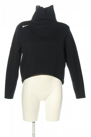 Nike Sweatshirt schwarz Motivdruck Casual-Look