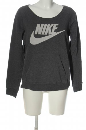 Nike Sweatshirt hellgrau meliert Casual-Look