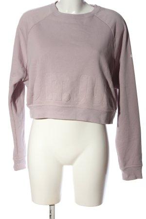Nike Sweatshirt hellgrau Schriftzug gedruckt Casual-Look