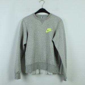 NIKE Sweatshirt Gr. M grau weiß neu (20/03/173*)