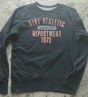 Nike Sweatshirt, Gr S, Grau, RETRO Stil