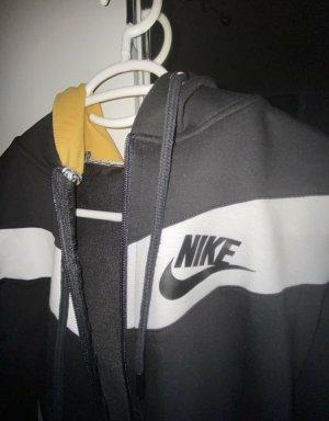 Nike Sweatshirt Jacke schwarz