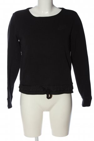 Nike Sweatshirt schwarz Casual-Look