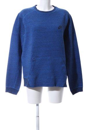 "Nike Sweatshirt ""von MICHA Ø."" blau"