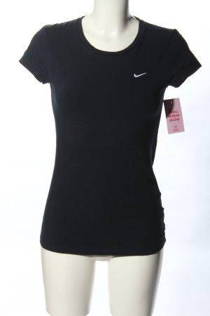 Nike T-Shirt schwarz-weiß Casual-Look