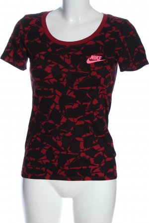 Nike T-Shirt abstraktes Muster Casual-Look