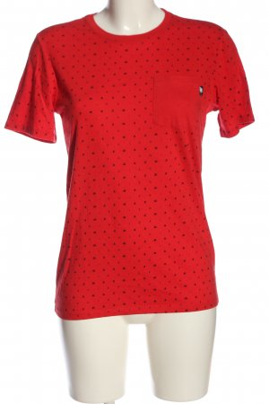 Nike T-Shirt rot-schwarz Casual-Look