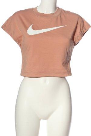 Nike T-Shirt nude-weiß Casual-Look