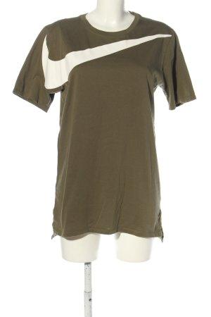 """Nike T-Shirt """"von Micha Ø."""" bronzefarben"""
