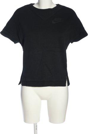 Nike T-Shirt schwarz Casual-Look