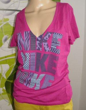 Nike T-Shirt, pink, Gr.M (18-AK)