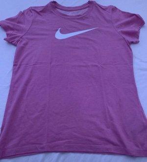 Nike T-Shirt pink Gr.M