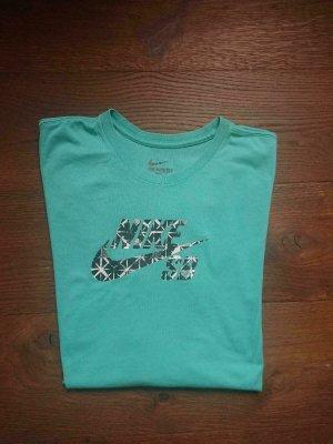 Nike T-Shirt Retro, Grün, Gr XL, sehr guter Zustand