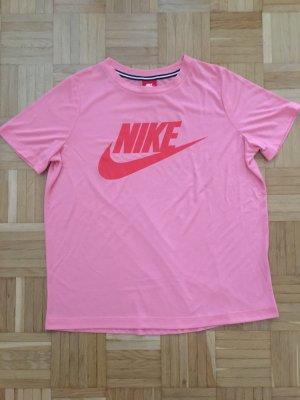 Nike T-Shirt, Sport, Gr. L, Rosa / Flamingo, TOP, wie NEU!