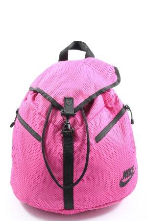Nike Tagesrucksack pink-schwarz Casual-Look