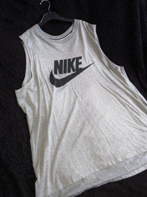 Nike Débardeur noir-gris