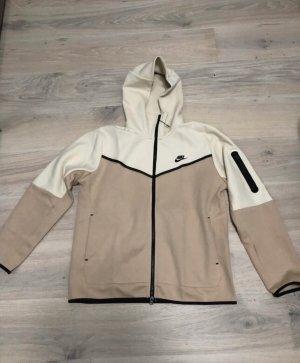 Nike tech fleece Jacke beige