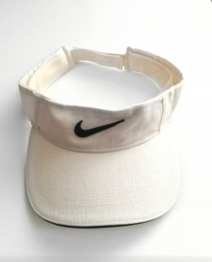 Nike Casquette noir-blanc cassé