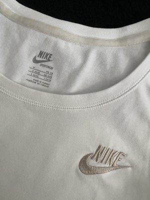 Nike Top sportowy biały