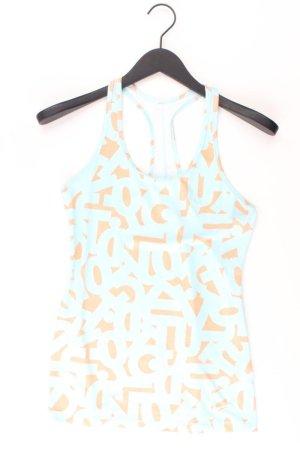 Nike Top Größe M blau aus Polyester