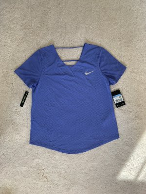 Nike Top Shirt M 38 blau NEU
