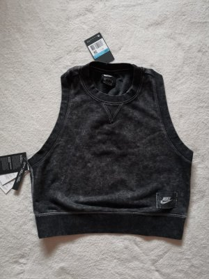 Nike Top Shirt M 38 NEU Pulli Pullover schwarz anthrazit
