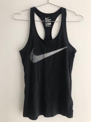 NIKE Top Tank Shirt Damen Sport Training schwarz wie NEU