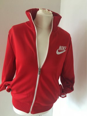 Nike Sportjack wit-rood