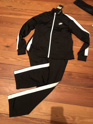 Nike Leisure suit black-white polyester