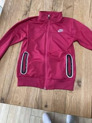Nike Giacca sport rosso neon