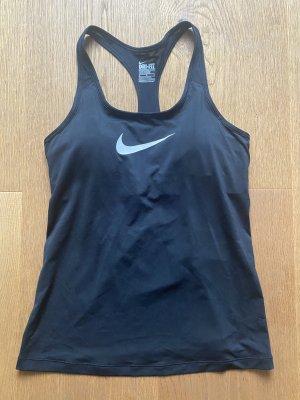 Nike Trainingstop top Frauen Größe M wie neu schwarz