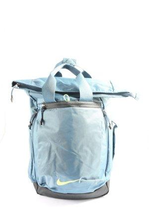 Nike Trekking Backpack blue quilting pattern casual look