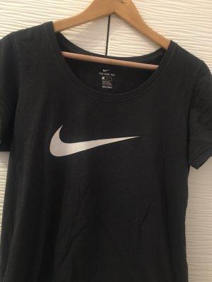 Nike T-Shirt grey-white
