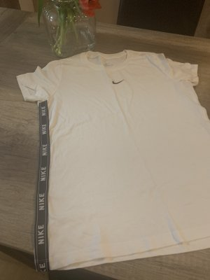 Nike T-shirt zwart-wit