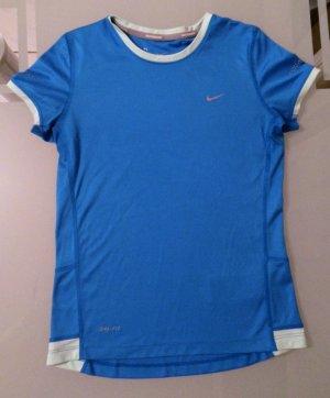 Nike Tshirt Shirt Top Dri-Fit Gr. 146 - 156 XS 34 blau