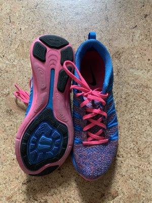 Nike Zapatilla brogue rosa neón-azul neón